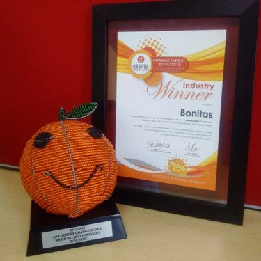 bonitas award